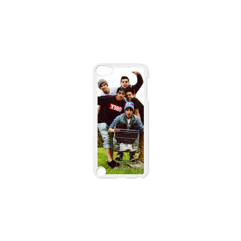 The Janoskians Custom Case for iPod Touch 5, VICustom iTouch 5 Protective Cover(Black&White)   Retail Packaging