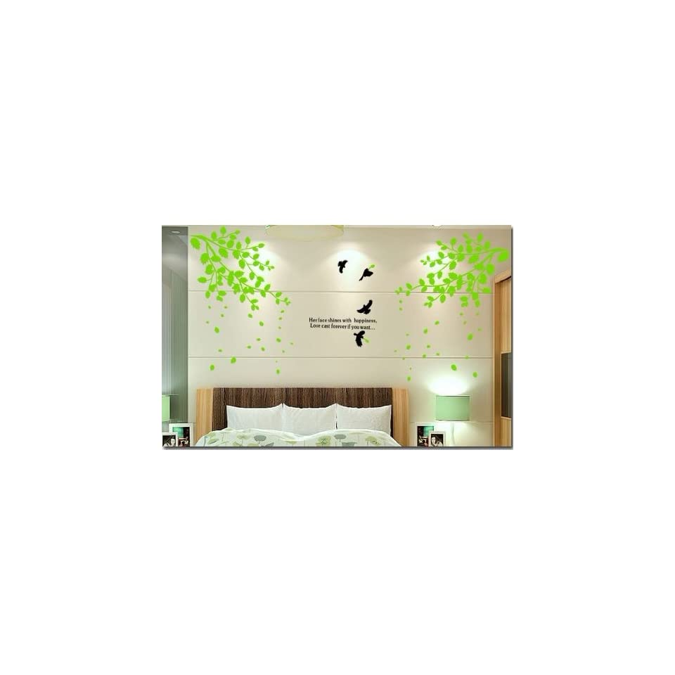 Reusable/removable Decoration Wall Sticker Decal  Trees