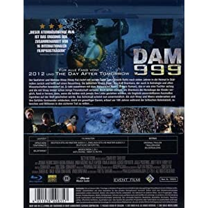Dam 999 [Blu-ray] [Import allemand]