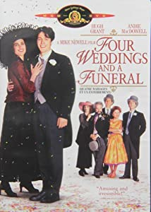 Four Weddings And A Funeral Bilingual Amazonca DVD