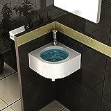 """Waschbecken f�r Ihr modernes Bad / Keramik Handwaschbecken / Design Waschtische / G�ste WC / Badezimmer / Wandmontagevon """"bad1a"""""""