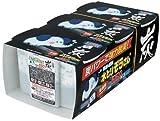 【ケース販売】 水とりぞうさん 炭 550ml 3個パック×15セット(計45パック)