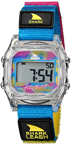 Freestyle Unisex 102245 Shark Leash Clear Digital Japanese-Quartz Velcro Watch (Shark Freestyle Watches compare prices)