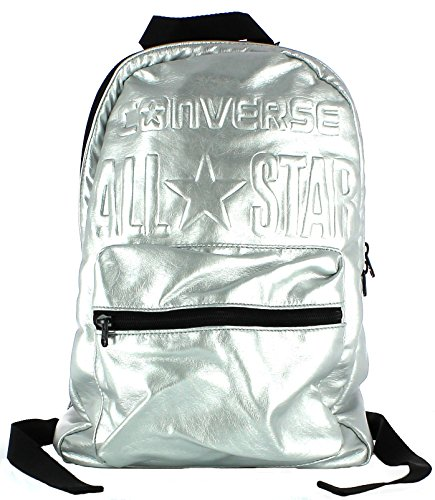 Converse All Star Zaino Argento Backpack Soft