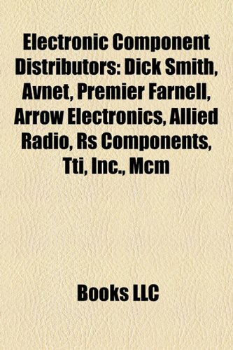 electronic-component-distributors-dick-smith-avnet-premier-farnell-arrow-electronics-allied-radio-rs