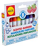 ALEX Toys Artist Studio 8 Washable Scented Markers