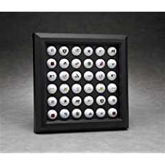 N Case It Executive 36 Golf Ball Display with a Formed Back Acrylic Display Case by N Case It