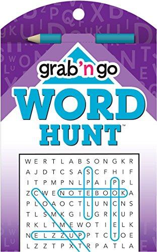 Grab 'n Go Puzzles Word Hunt: Cyan-crocus Edition PDF