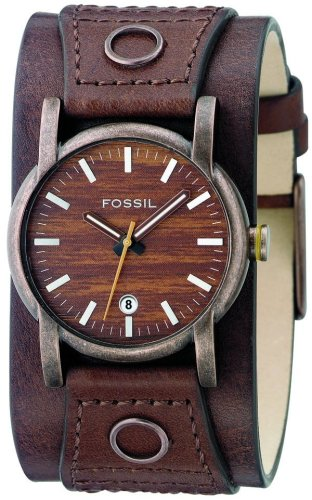 FOSSIL (フォッシル) 腕時計 FUEL ダークブラウン JR9768 メンズ [正規輸入品]