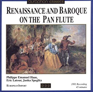 Renaissance and Baroque on the Pan Flute