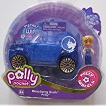 Polly Pocket Polly Wheels Series 4 Raspberry #46 Polly