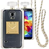 Dressier S5 Perfume Bottle Case with Chain for Samsung Galaxy S5 - Clear