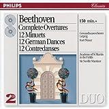 Beethoven: Complete Overtures / 12 Minuets / 12 German Dances, etc. (2 CDs)