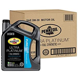 Pennzoil 550038320 3pk ultra platinum 5w 30 for Pennzoil 5w 30 synthetic motor oil