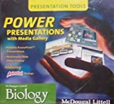 9780618782765: McDougal Littell Biology: Media Gallery with Power Presentations DVD-ROM