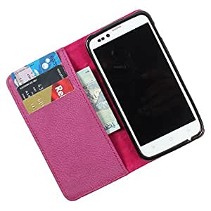 For Lava Xolo X1000 - PU Leather Wallet Flip Case Cover