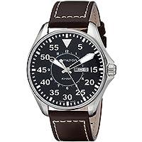 Hamilton H64611535 Khaki Aviation Pilot Black Dial Mens Watch