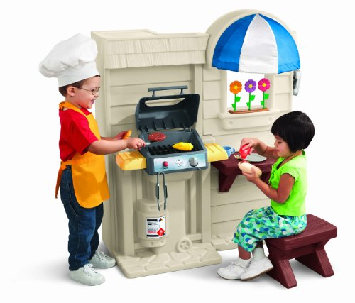 Little Tikes Kitchen Set With Grill