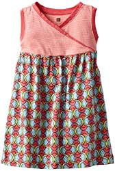 Tea Collection Little Girls' Domba Wrap-Neck Tank Dress