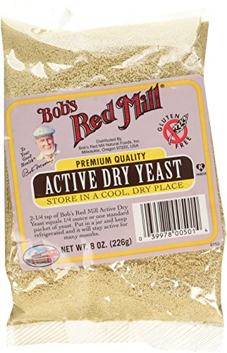 1 pack of dry yeast equals