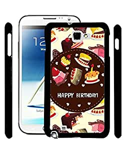 Printvisa 2D Printed Birthday Designer back case cover for Samsung Galaxy Note 1 - D4312
