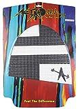 ASTRODECK アストロデッキ サーフィン 用 ノーズパッド アレックス ノスト ホワイト × ブラック