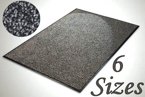 Everest Floor Mat - SKY - 135x200cm - Anthracite - Outdoor and Indoor Use (e.g. Garden, Office, Front Door, Garage)