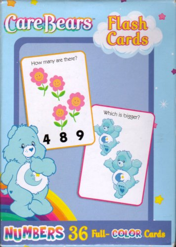 Buy Care Bears Flash Cards ~ Numbers