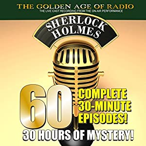 The New Adventures of Sherlock Holmes: 60-Episode Set Radio/TV Program