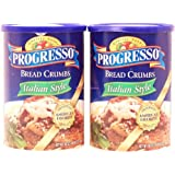 -  Progresso bread crumbs, italian style, 2-pack 80oz Canister