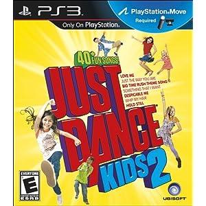 Playstation 3 游戏 Just Dance Kids 2