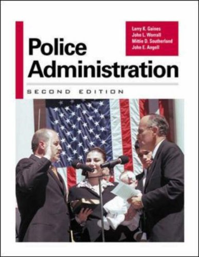 police administration Police administration, seventh edition, examines police administration from four  perspectives: a systems perspective a traditional, structural perspective.