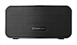 Simple Audio Go Compact Rechargeable Bluetooth Speaker (90B0001-US)