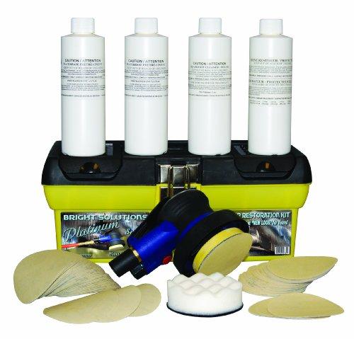 Symtech Bright Solutions Headlamp Platinum Series Restoration Kit