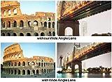 58mm 2x Telephoto HD Zoom Lens + 0.45x Wide Angle Lens + Lens Pen Kit + Lens Hood + More For Canon EOS Rebel T5i T4i XTI T2i T3i T3 20D 5D 300D 350D 450D 400D 10D T2 40D 50D 60D 650D 550D That Use Canon Lenses (18-55mm 75-300mm 50mm 1.4 55-200mm)