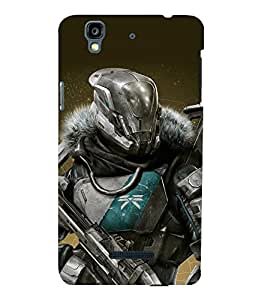 printtech Game Hero Warrior Back Case Cover for YU Yureka::Micromax Yureka AO5510