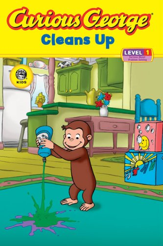 Curious George Cleans Up