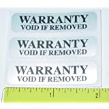 Security Label. Warranty Void Tamper Evident Seal / Labels
