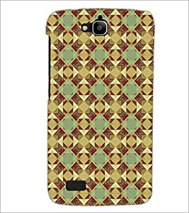 PrintDhaba Pattern D-5221 Back Case Cover for HUAWEI HONOR HOLLY (Multi-Coloured)