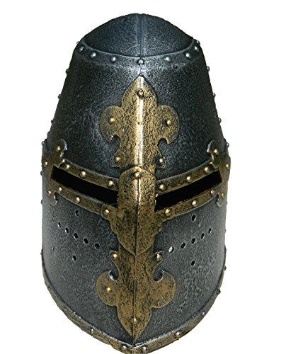 Medieval Knight Helmet Replica for Kids. The Great Helmet