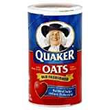 Quaker Old Fashioned Oats Oatmeal, 42-Oz. Canister   eBay