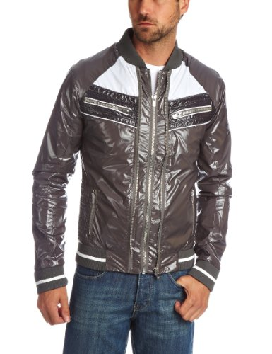 Two Angle Louroy Men's Jacket Grey Small