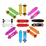 "Plastic Mini Cruiser Skateboard 22"" X 6"" Frisky Board"