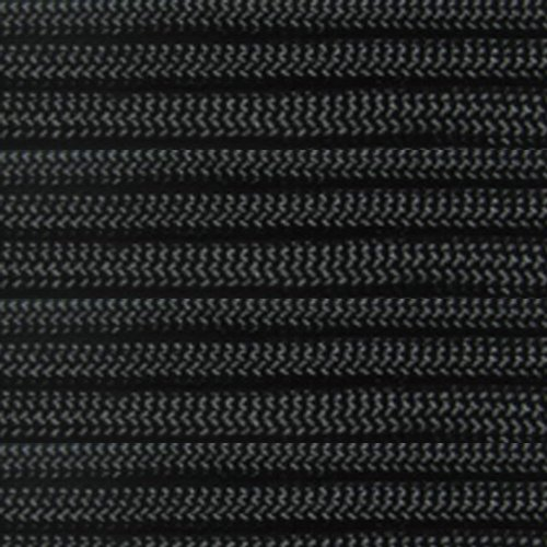 ParacordPlanet 50' 550 Cord Hank of Type III 550 Paracord - Black