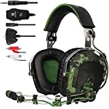 Sades Sa926 Gaming Headset Stereo Wired Over Ear Headphones With Mic For Pc/Ps3/Ps4/Xbox One/Xbox 360/Phone/Mac...