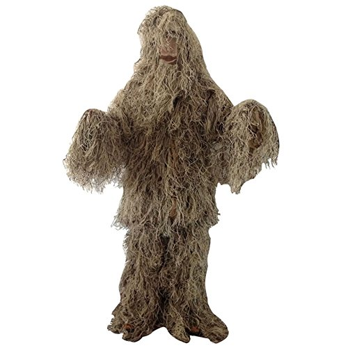 Adults Ghillie Suit Desert Color for Hunting