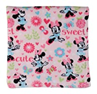 Disney GS70654 Minnie Mouse Super Soft Fleece Blanket, Pink from Cudlie Accessories