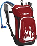 Camelbak Mini Mule Kids Hydration Pack 1.5 Litre - Red Flames