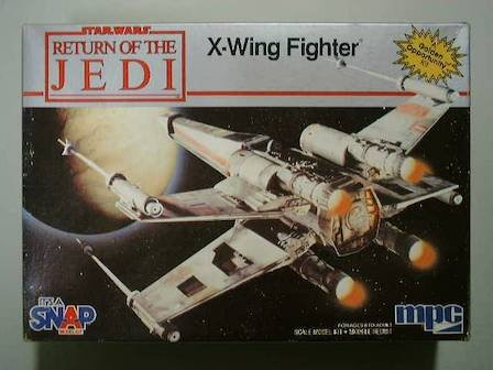 Star Wars Return of the Jedi X-wing Fighter Model By Mpc