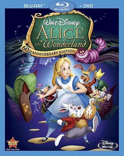 Alice au pays des merveilles en Blu-ray et DVD!